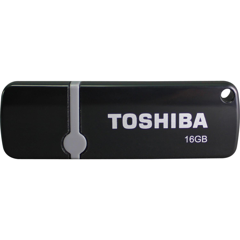 Toshiba 16 GB USB 2.0 Flash Drive - Black