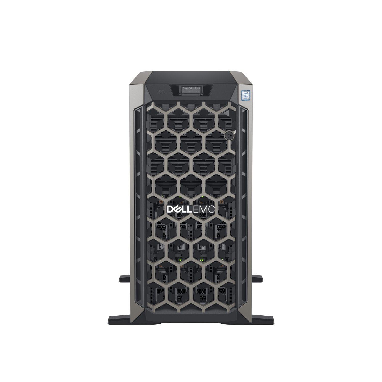 Dell EMC PowerEdge T440 5U Tower Server - 1 x Intel Xeon Silver 4208 2.10 GHz - 16 GB RAM - 1.20 TB (1 x 1 TB) HDD - 12Gb/s SAS, Serial ATA/600 Controller