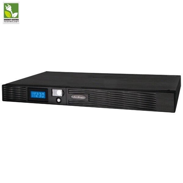 CyberPower Professional PR1000ELCDRT1U Line-interactive UPS - 1 kVA/670 W