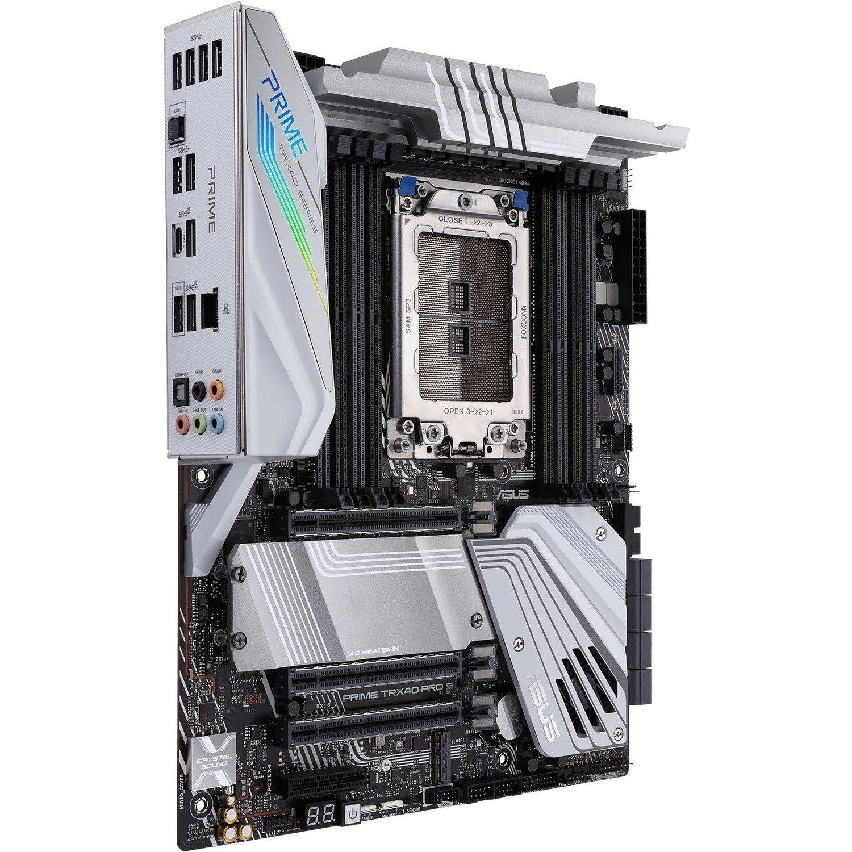 Asus Prime TRX40-PRO S Desktop Motherboard - AMD Chipset - Socket sTRX4 - ATX