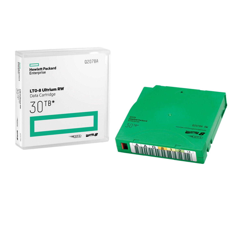 HPE LTO-8 Ultrium 30TB RW Data Cartridge
