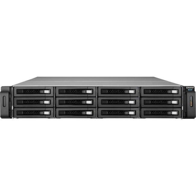 QNAP REXP-1200U-RP 12 x Total Bays DAS Storage System - 2U Rack-mountable