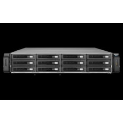 QNAP REXP-1220U-RP Drive Enclosure - 12Gb/s SAS Host Interface - 2U Rack-mountable
