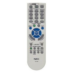 NEC Display Remote Control for Projectors