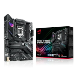 Asus ROG Strix B460-F GAMING Desktop Motherboard - Intel Chipset - Socket LGA-1200 - Intel Optane Memory Ready - ATX