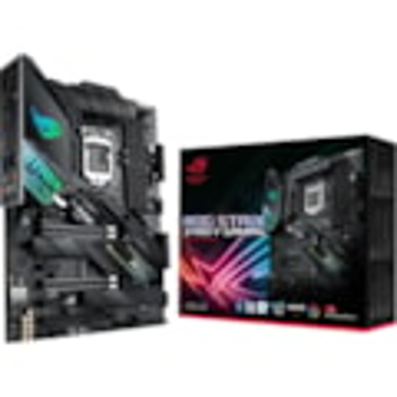 Asus ROG Strix Z490-F GAMING Desktop Motherboard - Intel Chipset - Socket LGA-1200 - Intel Optane Memory Ready - ATX