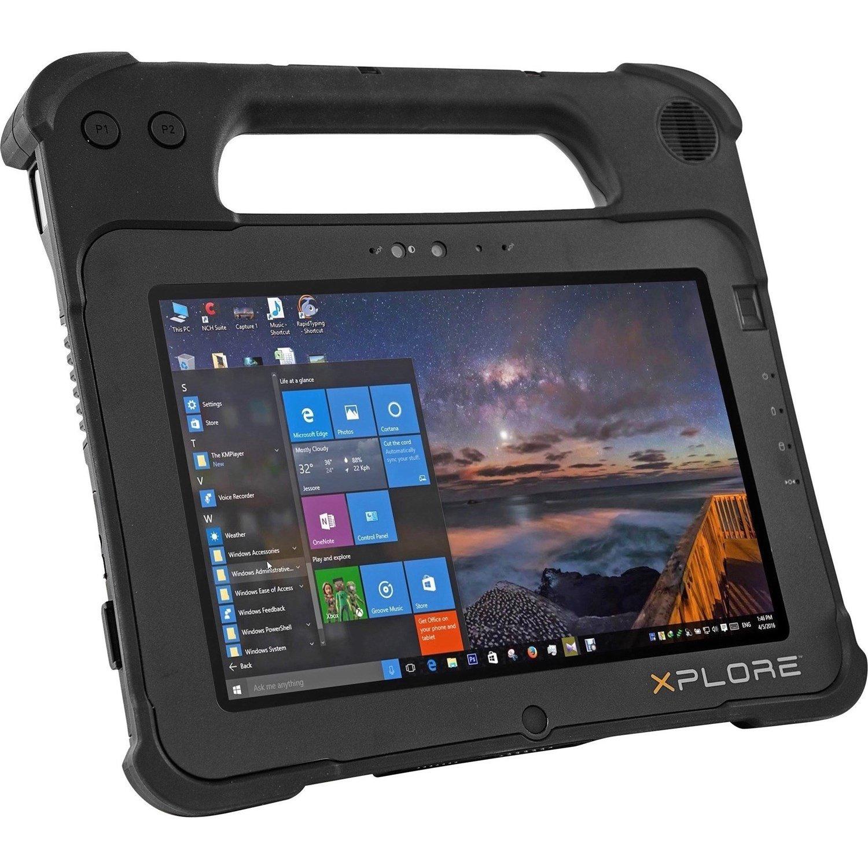 """Xplore XPAD L10 Tablet - 25.7 cm (10.1"""") WQUXGA - 8 GB RAM - 128 GB Storage - Android 8.1 Oreo - 4G"""