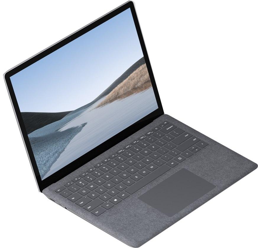 "Microsoft Surface Laptop 3 34.3 cm (13.5"") Touchscreen Notebook - 2256 x 1504 - Intel Core i5 (10th Gen) i5-1035G7 Quad-core (4 Core) 1.20 GHz - 16 GB RAM - 256 GB SSD - Platinum"