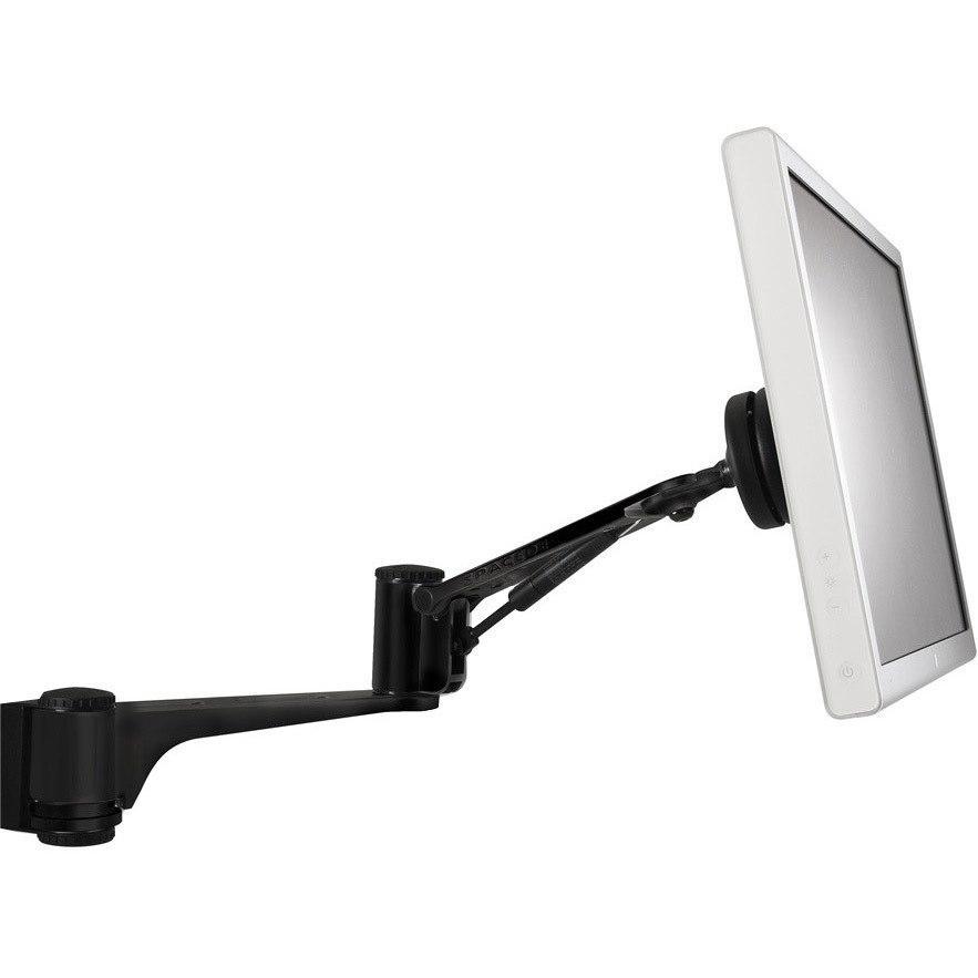 Atdec SD-AT-DW-BK Mounting Arm for Flat Panel Display - Black