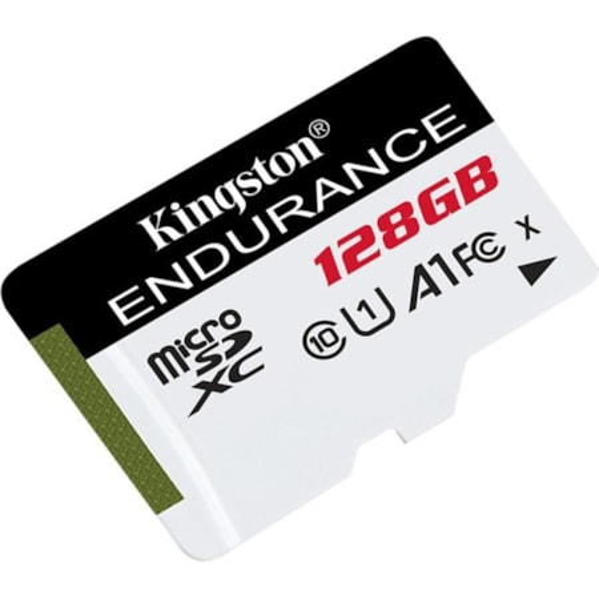 Kingston High Endurance 128 GB Class 10/UHS-I (U1) microSDXC - 1 Pack