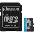 Kingston Canvas Go! Plus 128 GB Class 10/UHS-I (U3) microSDXC