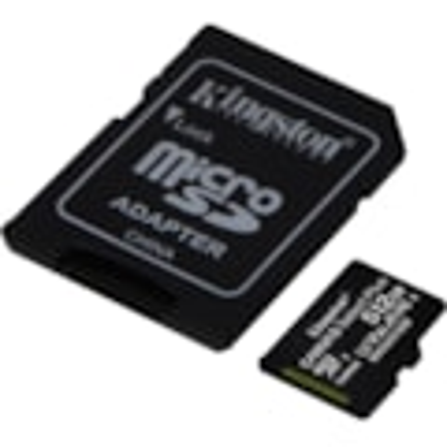 Kingston Canvas Select Plus 512 GB Class 10/UHS-I (U3) microSDXC - 1 Pack