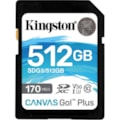 Kingston Canvas Go! Plus 512 GB Class 10/UHS-I (U3) SDXC