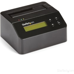 StarTech.com Drive Dock - USB 3.0 Type B Host Interface External - Black - TAA Compliant