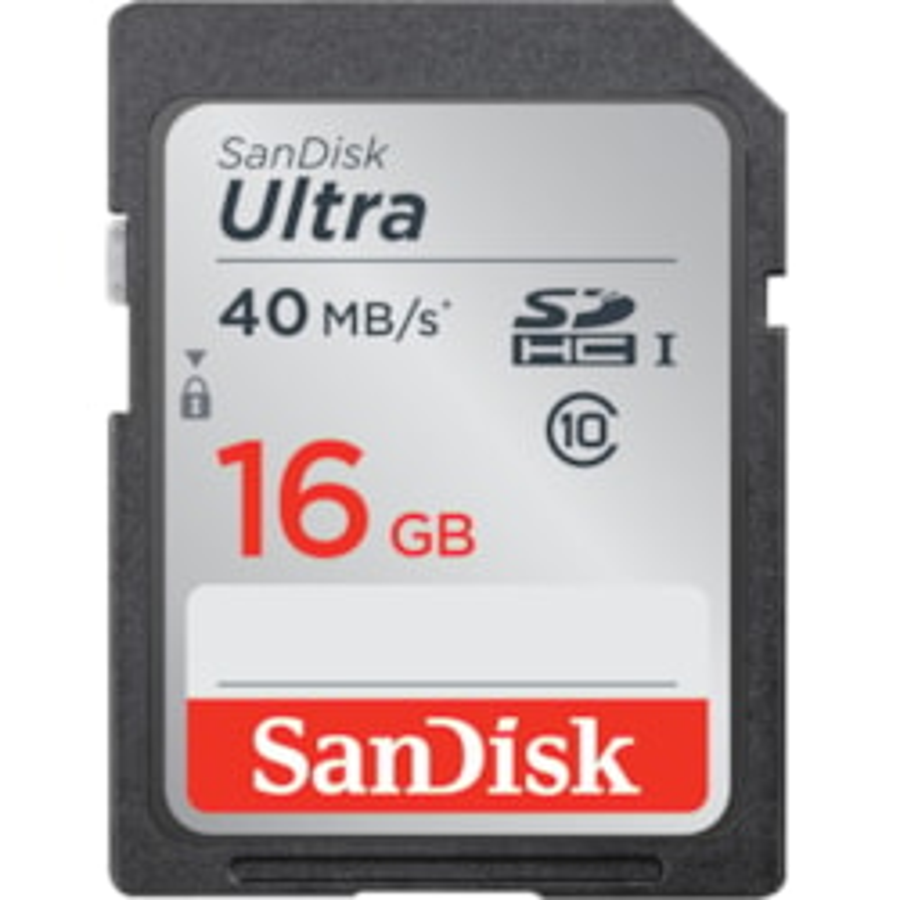 SanDisk Ultra 16 GB Class 10/UHS-I SDHC