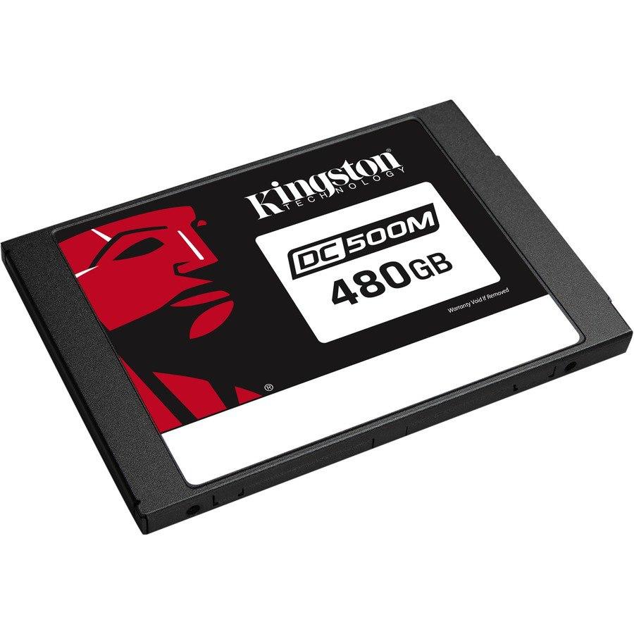 "Kingston DC500 DC500M 480 GB Solid State Drive - 2.5"" Internal - SATA (SATA/600) - Mixed Use"