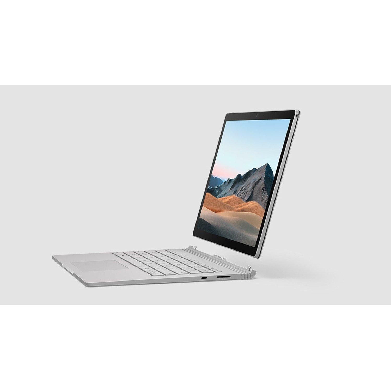 "Microsoft Surface Book 3 34.3 cm (13.5"") Touchscreen 2 in 1 Notebook - 3000 x 2000 - Intel Core i7 (10th Gen) i7-1065G7 Quad-core (4 Core) 1.30 GHz - 32 GB RAM - 1 TB SSD - Silver"