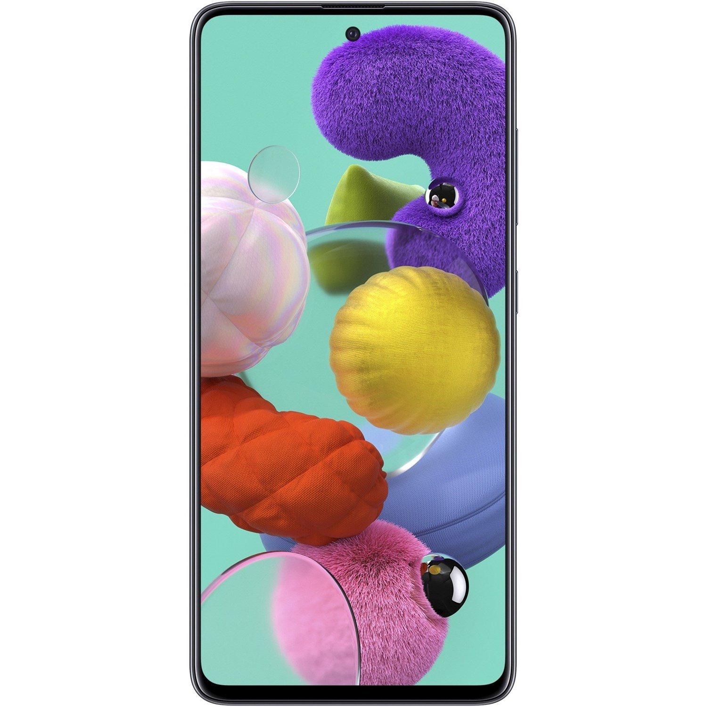 """Samsung Galaxy A51 SM-A515F/N 128 GB Smartphone - 16.5 cm (6.5"""") Super AMOLED Full HD Plus 1080 x 2400 - 6 GB RAM - Android 10 - 4G - Prism Crush Black"""