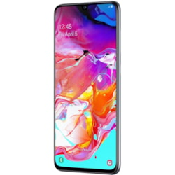 "Samsung Galaxy A70 SM-A705YN 128 GB Smartphone - 17 cm (6.7"") Super AMOLED Full HD Plus 1080 x 2400 - 6 GB RAM - Android 9.0 Pie - 4G - Black"