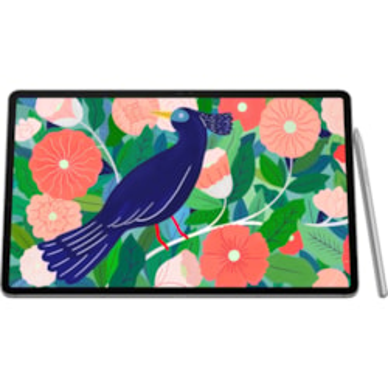"Samsung Galaxy Tab S7+ SM-T975 Tablet - 31.5 cm (12.4"") WQXGA+ - 6 GB RAM - 128 GB Storage - Android 10 - 4G - Mystic Silver"