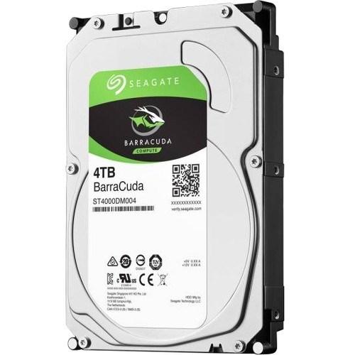"Seagate BarraCuda ST4000DM004 4 TB Hard Drive - 3.5"" Internal - SATA (SATA/600)"