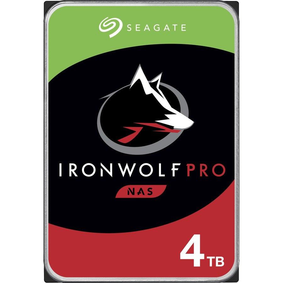 "Seagate IronWolf Pro ST4000NE001 4 TB Hard Drive - 3.5"" Internal - SATA (SATA/600) - Conventional Magnetic Recording (CMR) Method"