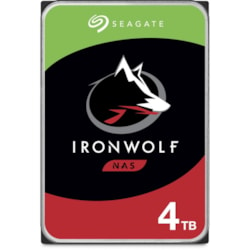 "Seagate IronWolf ST4000VN008 4 TB Hard Drive - 3.5"" Internal - SATA (SATA/600) - Conventional Magnetic Recording (CMR) Method"