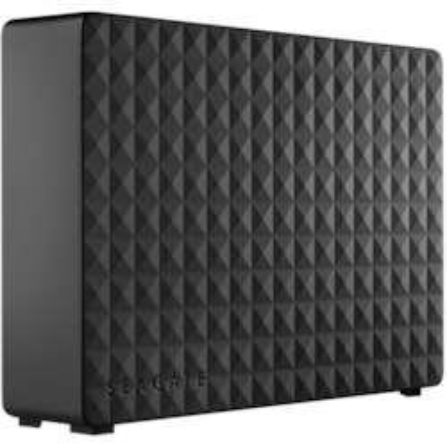 """Seagate Expansion STEB8000402 8 TB Desktop Hard Drive - 3.5"""" External - Black"""