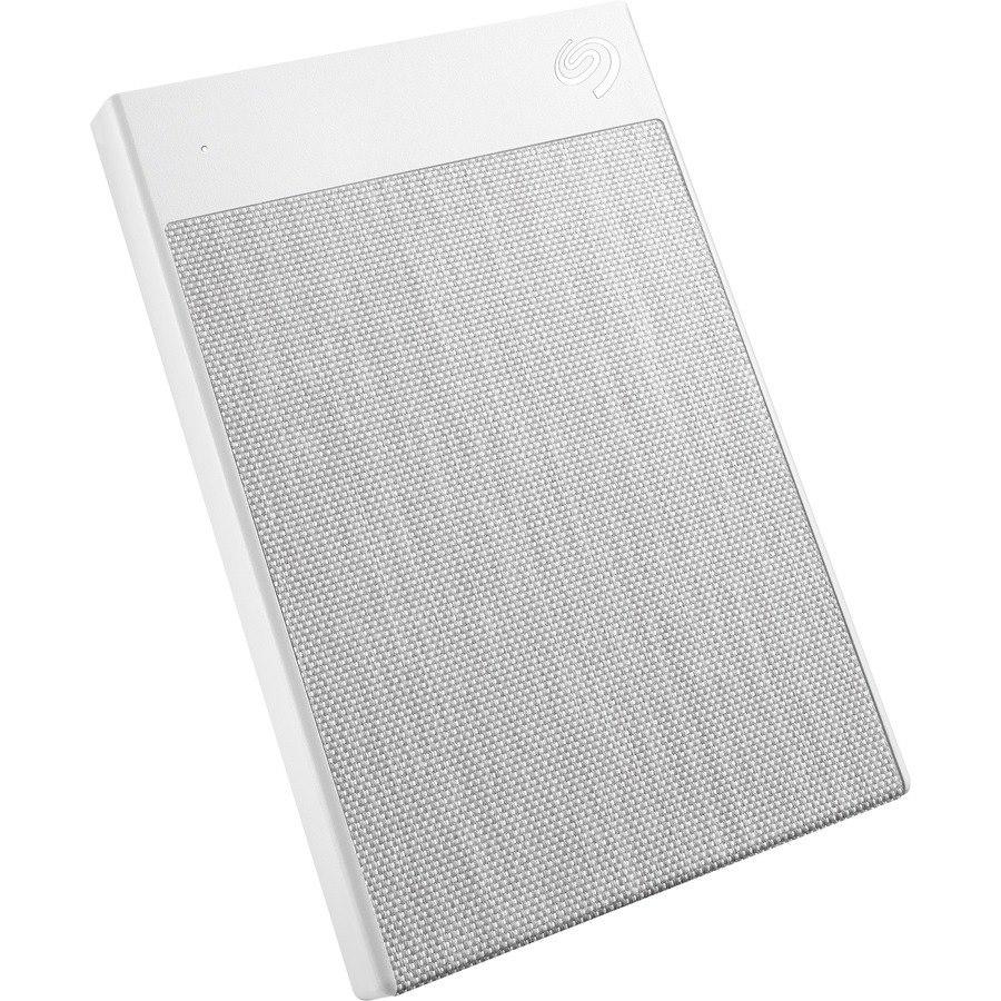 "Seagate Backup Plus Ultra Touch STHH2000402 2 TB Portable Hard Drive - 2.5"" External - White"