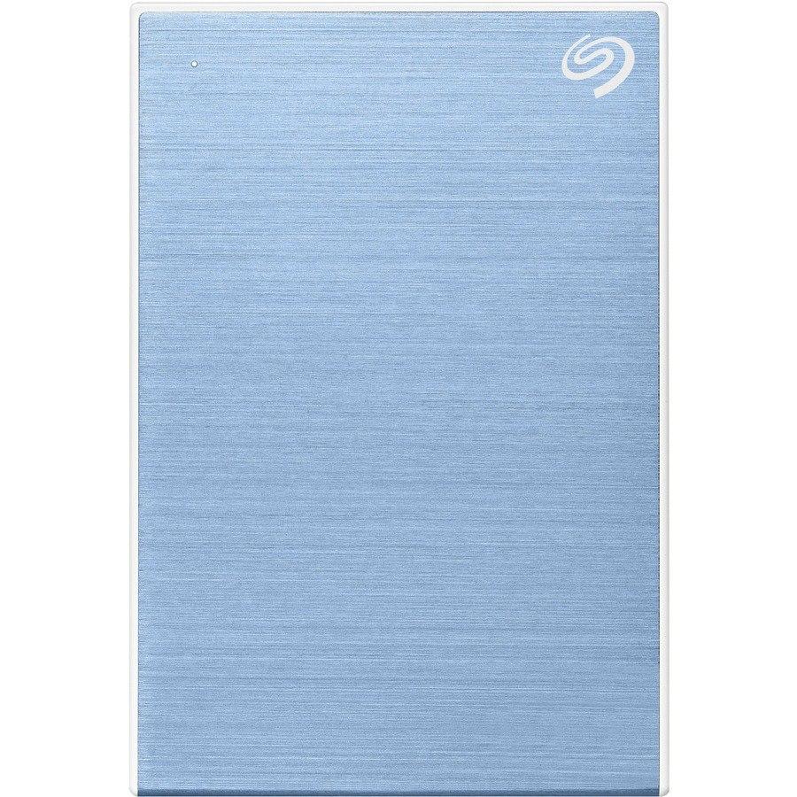 """Seagate Backup Plus STHP4000402 4 TB Portable Hard Drive - 2.5"""" External - Light Blue"""
