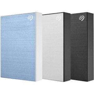 "Seagate Backup Plus STHP5000401 5 TB Portable Hard Drive - 2.5"" External - Silver"