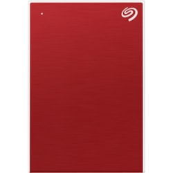 "Seagate One Touch STKC4000403 4 TB Portable Hard Drive - 2.5"" External - Red"