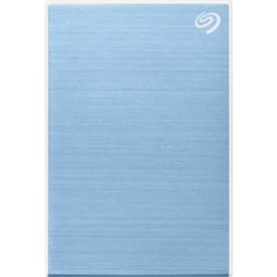 "Seagate One Touch STKC5000402 5 TB Portable Hard Drive - 2.5"" External - Light Blue"