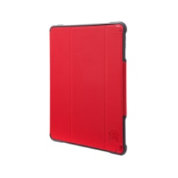 """STM Goods Dux Carrying Case for 24.6 cm (9.7"""") Apple iPad (5th Generation) Tablet - Red"""
