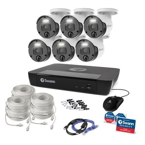Swann Master 8 Channel Night Vision Wired Video Surveillance System 2 TB HDD