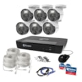 Swann Master 8 Channel Night Vision Wired Video Surveillance System 2 TB HDD