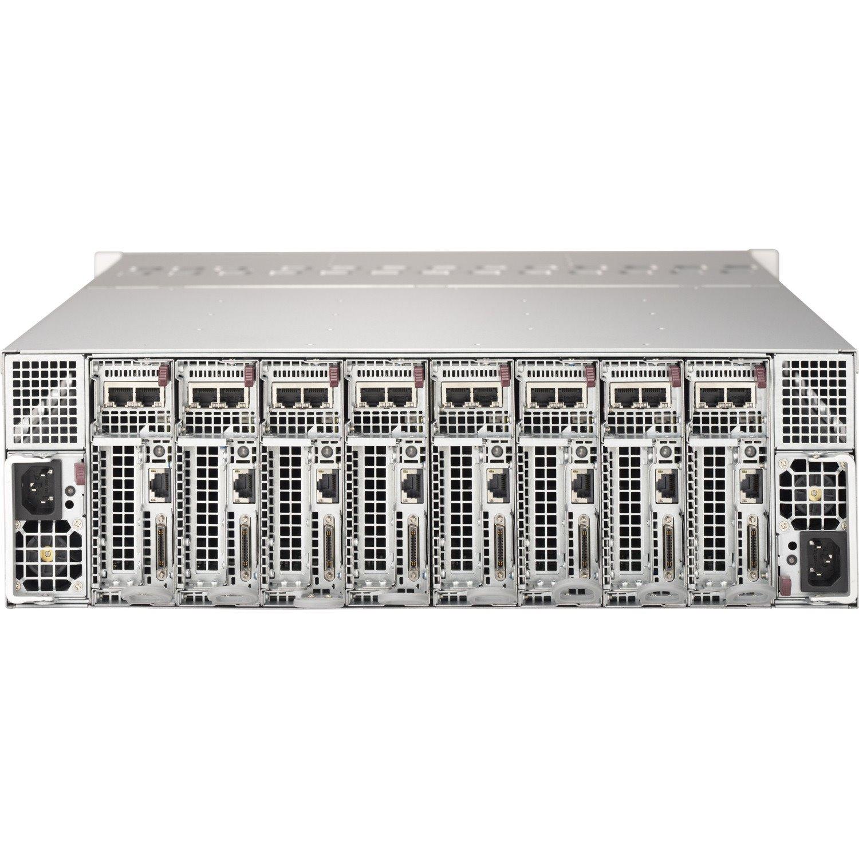 Supermicro SuperServer 5038MD-H8TRF 3U Rack Server - 1 x Intel Xeon D-1541 2.10 GHz - Serial ATA/600 Controller