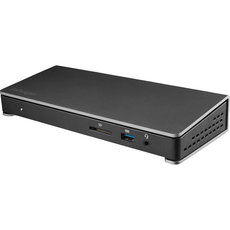 StarTech.com USB Type C Docking Station for Notebook - 180 W