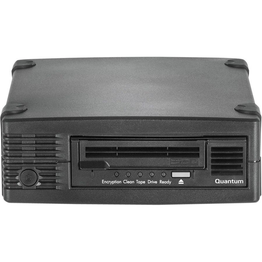 Quantum TC-L62BN-AR LTO-6 Tape Drive - 2.50 TB (Native)/6.25 TB (Compressed) - Black