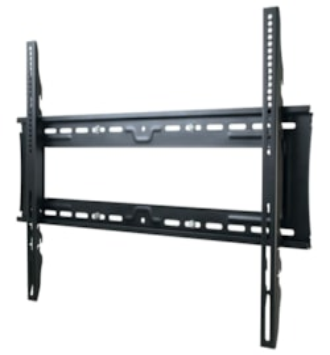 Atdec TH-3070-UF Wall Mount for Flat Panel Display - Silver, Black