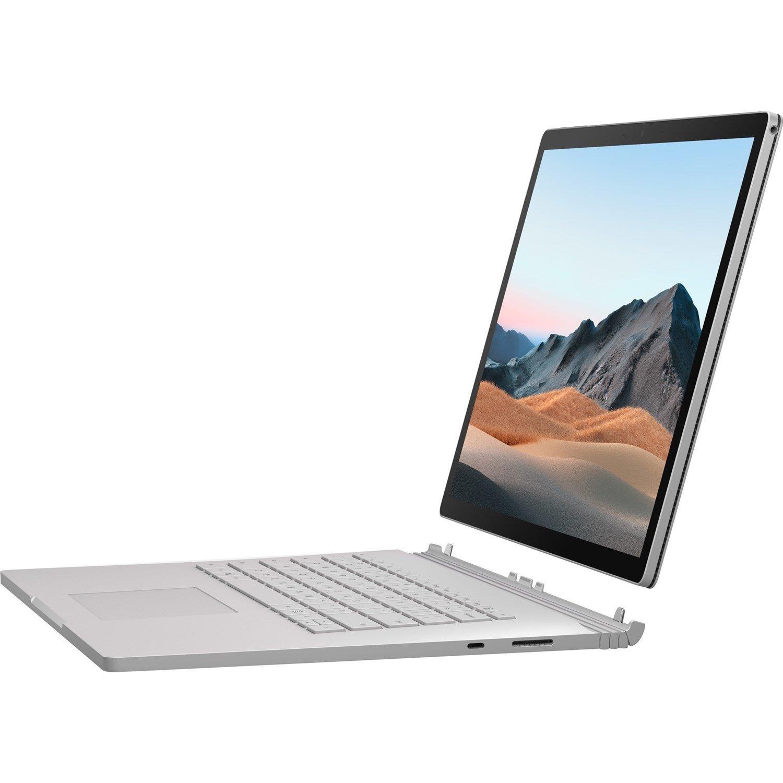 "Microsoft Surface Book 3 38.1 cm (15"") Touchscreen 2 in 1 Notebook - 3240 x 2160 - Intel Core i7 (10th Gen) i7-1065G7 Quad-core (4 Core) 1.30 GHz - 32 GB RAM - 512 GB SSD - Platinum"