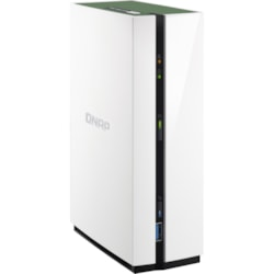 QNAP TS-128A 1 x Total Bays SAN/NAS Storage System - 4 GB Flash Memory Capacity - Realtek Quad-core (4 Core) 1.40 GHz - 1 GB RAM - DDR4 SDRAM Tower