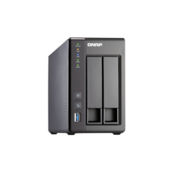 QNAP Turbo NAS TS-251+ 2 x Total Bays NAS Storage System - Intel Celeron Quad-core (4 Core) 2 GHz - 8 GB RAM - DDR3L SDRAM