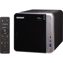 QNAP TS-453BT3 4 x Total Bays SAN/NAS/DAS Storage System - Intel Celeron Quad-core (4 Core) 1.50 GHz - 8 GB RAM - DDR3L SDRAM Tower