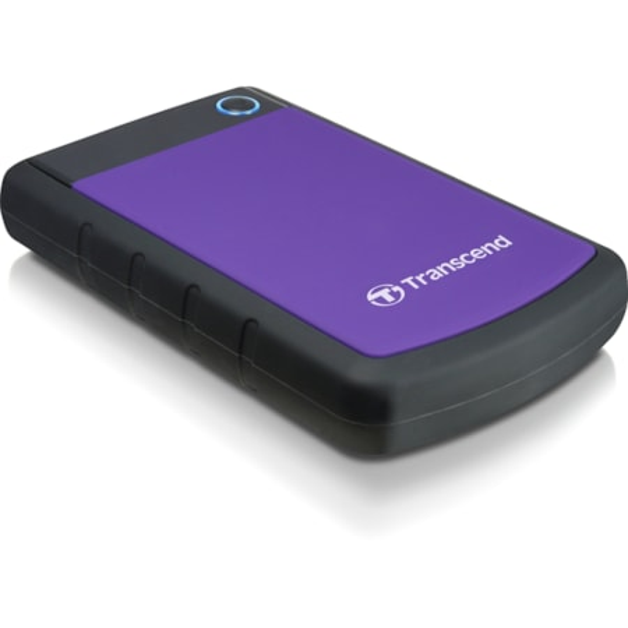 "Transcend StoreJet 25 H3 1 TB Hard Drive - 2.5"" External - SATA"