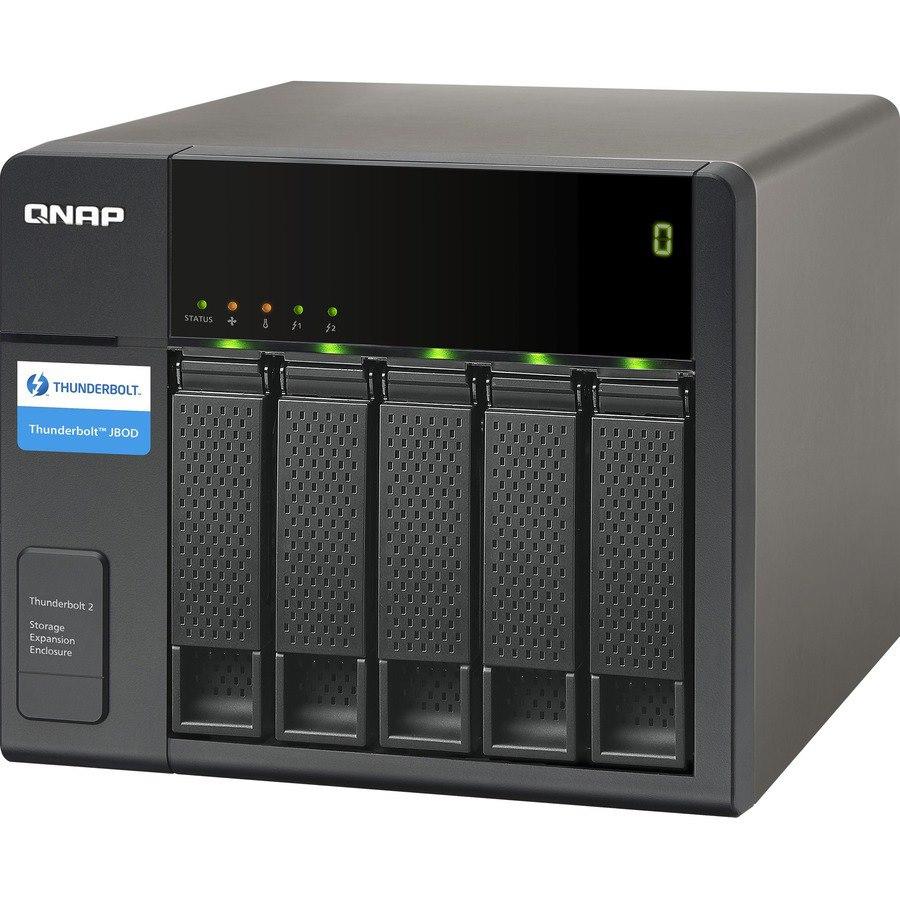 QNAP TX-500P Drive Enclosure - Thunderbolt 2 Host Interface Tower