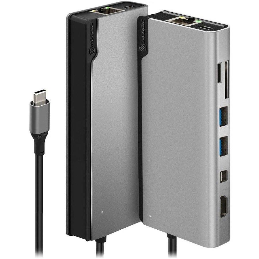 Alogic Ultra USB Type C Docking Station for Notebook/Tablet/Smartphone - 100 W