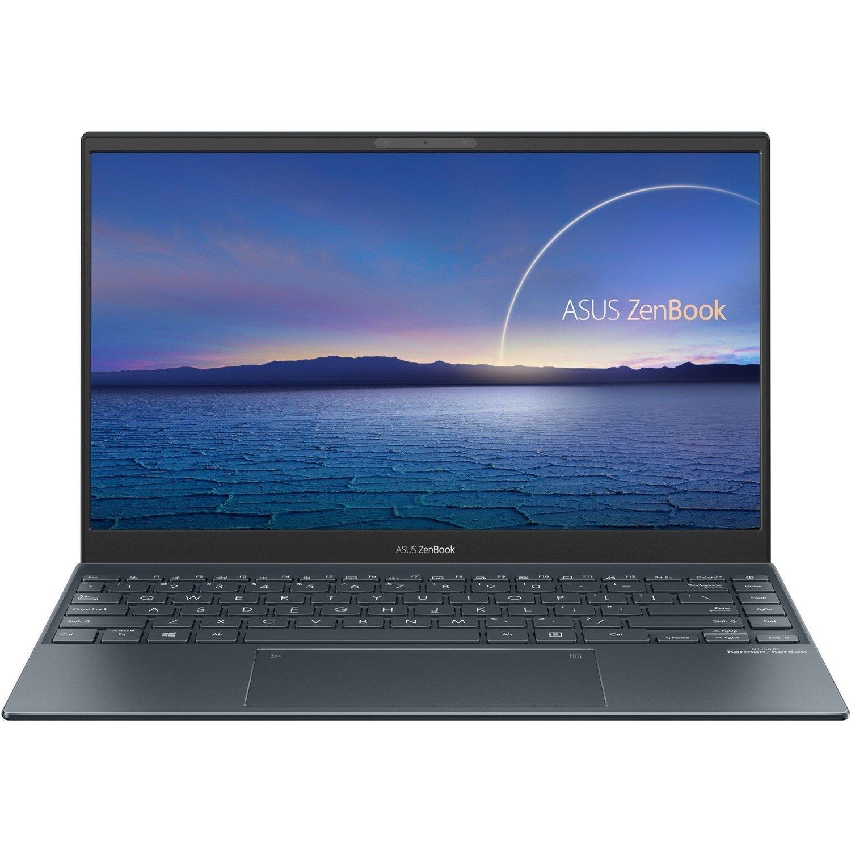 """Asus ZenBook 14 UX425 UX425EA-BM024R 35.6 cm (14"""") Notebook - Full HD - 1920 x 1080 - Intel Core i7 (11th Gen) i7-1165G7 Quad-core (4 Core) 2.80 GHz - 16 GB RAM - 512 GB SSD - Pine Gray"""