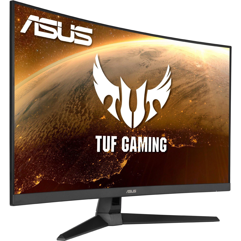 """TUF VG32VQ1B 80 cm (31.5"""") WQHD Curved Screen LED Gaming LCD Monitor - 16:9 - Black"""