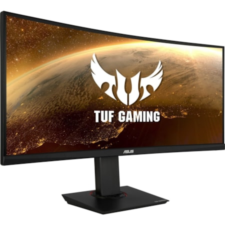 "TUF VG35VQ 88.9 cm (35"") WQHD Curved Screen LED Gaming LCD Monitor - 21:9 - Black"